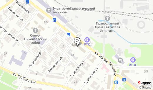 Компания по резке железобетона. Схема проезда в Донецке