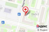Схема проезда до компании Издательский Дом Альд в Москве