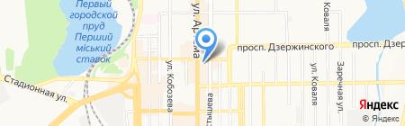 ADFACTORY на карте Донецка