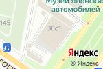 Схема проезда до компании Гаражно-эксплуатационный кооператив №11 в Москве