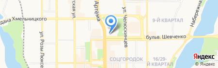 Донецкая общеобразовательная школа I-III ступеней №2 на карте Донецка