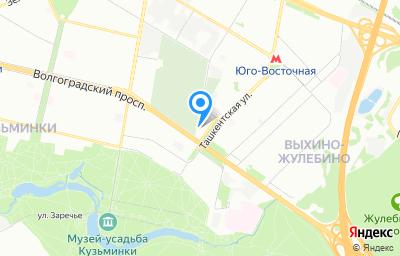 Местоположение на карте пункта техосмотра по адресу г Москва, ул Ташкентская, д 28 стр 8