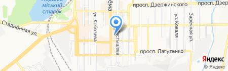Л.И.Т.-тур на карте Донецка