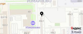 Personal slim style на карте Москвы
