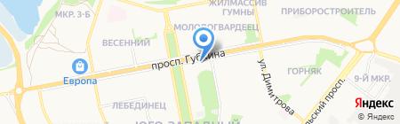 Grand-flora.ru на карте Старого Оскола