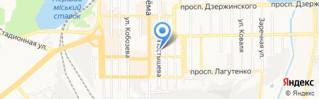 Арт-Глобус на карте Донецка