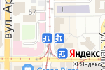 Схема проезда до компании Киоск фастфудной продукции в Донецке