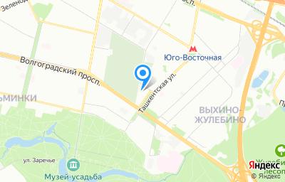 Местоположение на карте пункта техосмотра по адресу г Москва, ул Ташкентская, д 28 стр 1, пом 7