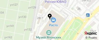 Ртп Авто на карте Москвы
