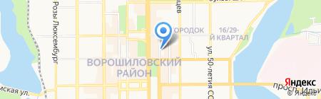 Инфоком-Восток на карте Донецка