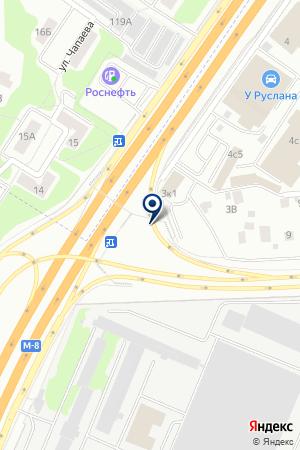 АВТОЛЮБИТЕЛЬ-К на карте Королева