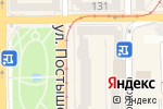 Схема проезда до компании Konfeterra в Донецке