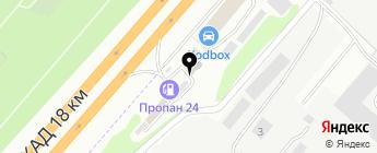 PeGas на карте Москвы