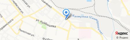 Оргтех+ на карте Донецка
