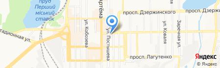 Магия Путешествий на карте Донецка