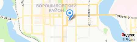 Экзотик Тревел Компани на карте Донецка