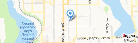 Банкомат Дельта Банк на карте Донецка