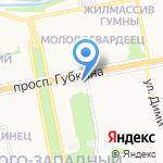 rockpizza.ru на карте Старого Оскола