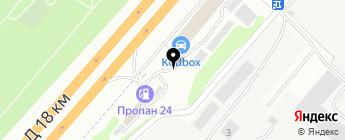 Auto на карте Москвы