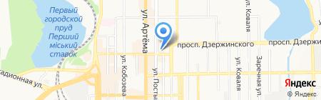 Первая помощь на карте Донецка