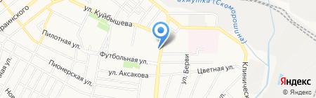 ЯСПИС на карте Донецка