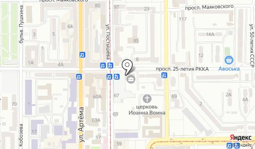 Киевская Русь XXI века. Схема проезда в Донецке