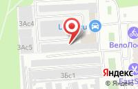 Схема проезда до компании Евентус в Москве