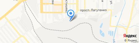 Таймбуд на карте Донецка