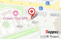 Схема проезда до компании Эффин в Москве