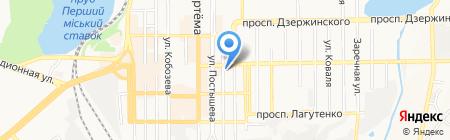 Ателье по ремонту и пошиву одежды на карте Донецка