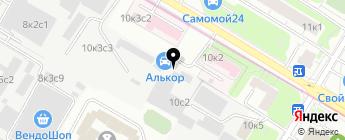 MULTICOLOR на карте Москвы