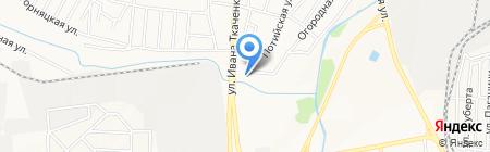 Донбассдомнаремонт на карте Донецка