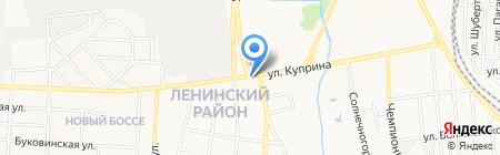 Людмила на карте Донецка