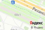 Схема проезда до компании ЦВЕТОЧНЫЙ 24 в Москве
