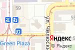 Схема проезда до компании Все от 6 в Донецке