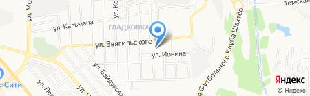 Школа искусств №3 на карте Донецка