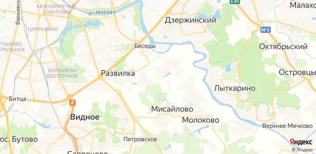 Картино на карте