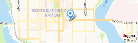 RCC Ukraine на карте Донецка