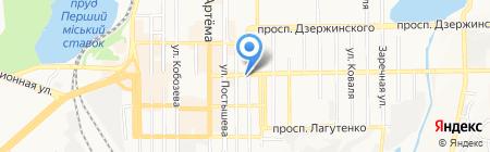 Inter окна на карте Донецка