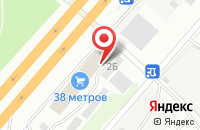 Схема проезда до компании Танта М в Дзержинском