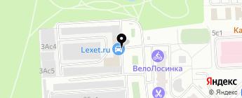 Lexet.ru на карте Москвы