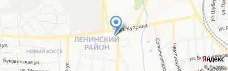 Ольвия на карте Донецка