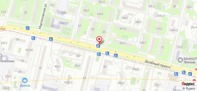 Зелёный проспект д.65 - Центр Госуслуг