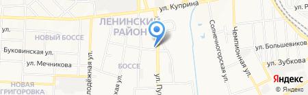 Тендер-Донецк на карте Донецка