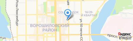 Шашлычная №1 на карте Донецка