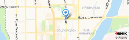 Woman на карте Донецка