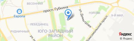 Управление государственного автодорожного надзора по Белгородской области на карте Старого Оскола