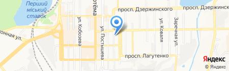 Адвокатский кабинет Булаева В.Л. на карте Донецка