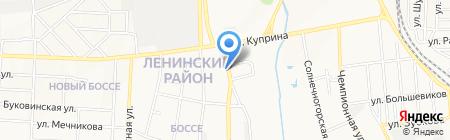 МИМ на карте Донецка
