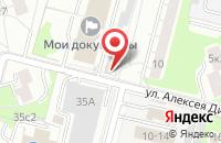 Схема проезда до компании Грин-Форм-Сервис в Москве